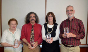 JFSNEPA honors staff, installs new officers at annual meeting