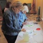 Local artist Shirley Eagen gives lecture, demonstration at The Gathering Place