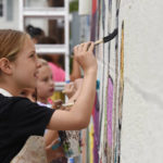 Young artists get creative at Abington Art Studio's Mural Painting Camp